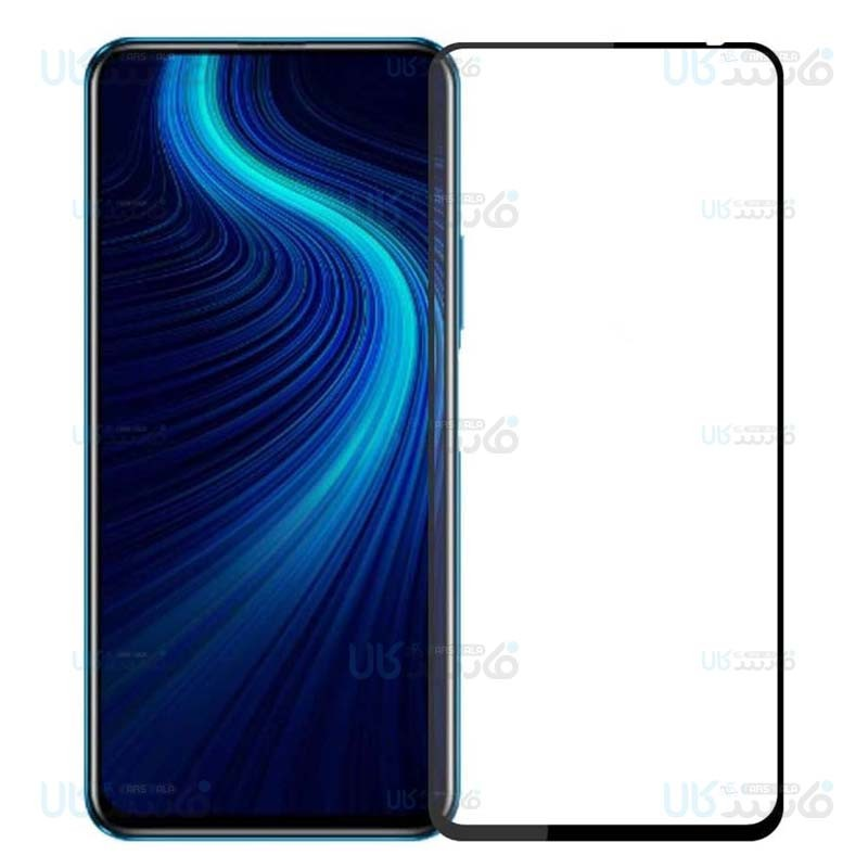 محافظ صفحه نمایش تمام چسب با پوشش کامل هواوی Full Glass Screen Protector For Huawei Honor X10
