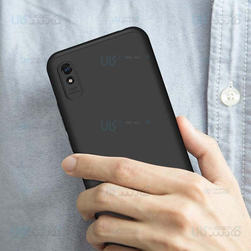 قاب محافظ با پوشش 360 درجه شیائومی GKK Color Full Cover For Xiaomi Redmi 9A