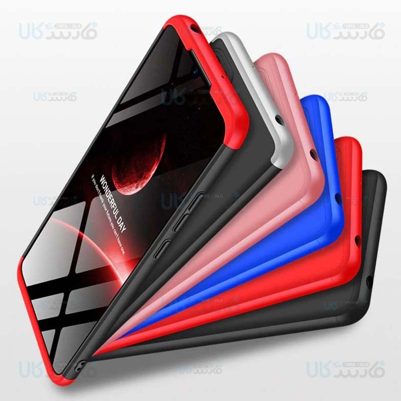 قاب محافظ با پوشش 360 درجه شیائومی GKK Color Full Cover For Xiaomi Redmi 9C