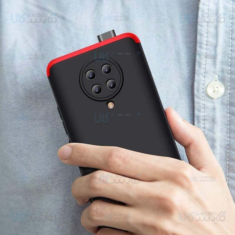 قاب محافظ با پوشش 360 درجه شیائومی GKK Color Full Cover For Xiaomi Redmi K30 Pro Poco F2 Pro