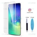 محافظ صفحه شیشه ای تمام صفحه و خمیده یو وی مات سامسونگ Matte UV Full Glass Screen Protector Samsung Galaxy S10