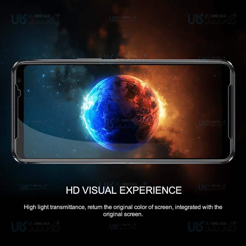 محافظ صفحه نمایش شیشه ای نیلکین ایسوس Nillkin Amazing CP+ Pro Glass Asus ROG Phone 3 ZS661KS