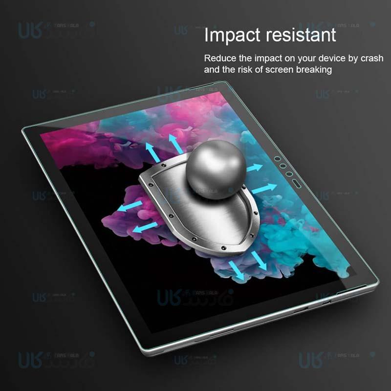 محافظ صفحه نمایش شیشه ای نیلکین مایکروسافت Nillkin H+ Glass For Microsoft Surface Pro 5 Pro 6