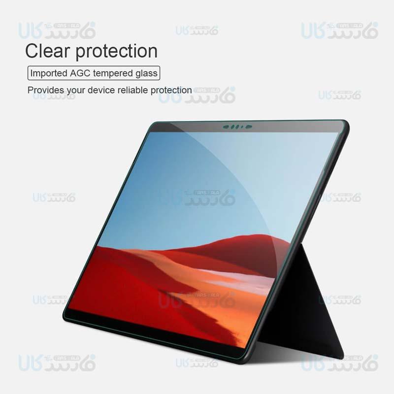 محافظ صفحه نمایش شیشه ای نیلکین مایکروسافت Nillkin H+ Glass For Microsoft Surface Pro X