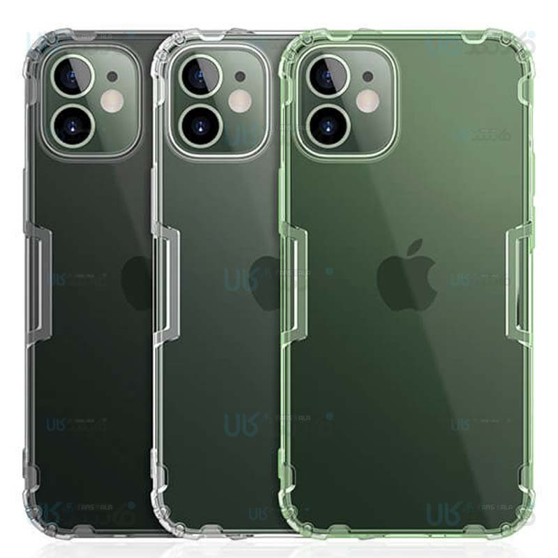 قاب محافظ ژله ای نیلکین اپل Nillkin Nature Series TPU case for Apple iPhone 12
