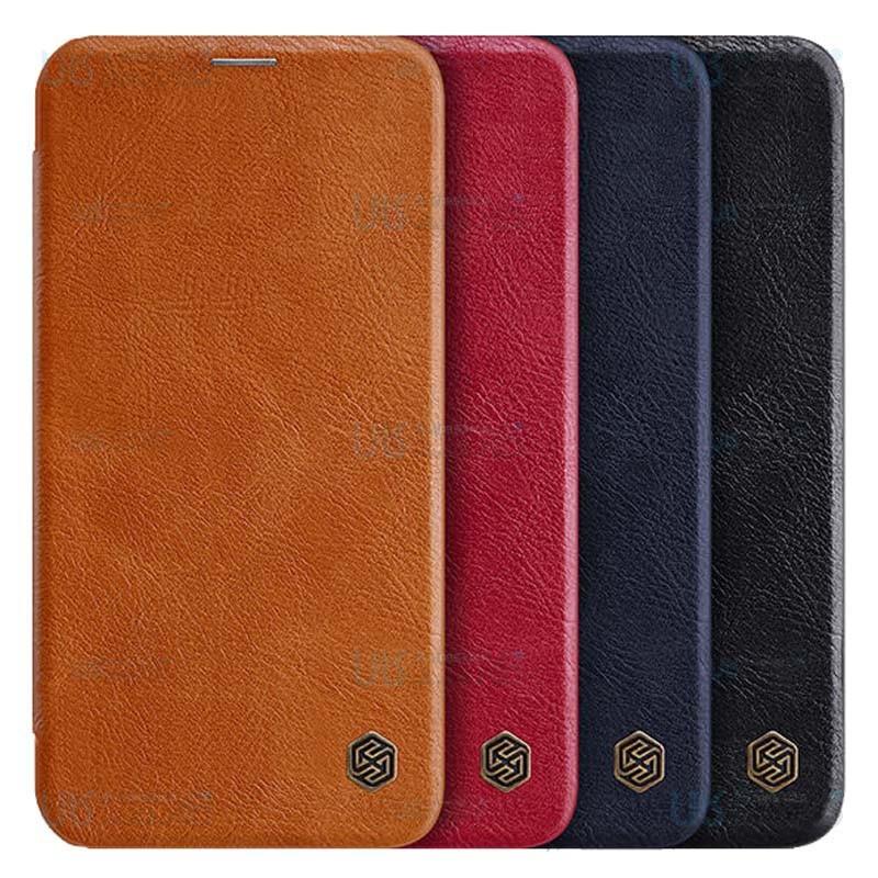کیف محافظ چرمی نیلکین اپل Nillkin Qin Case For Apple iPhone 12