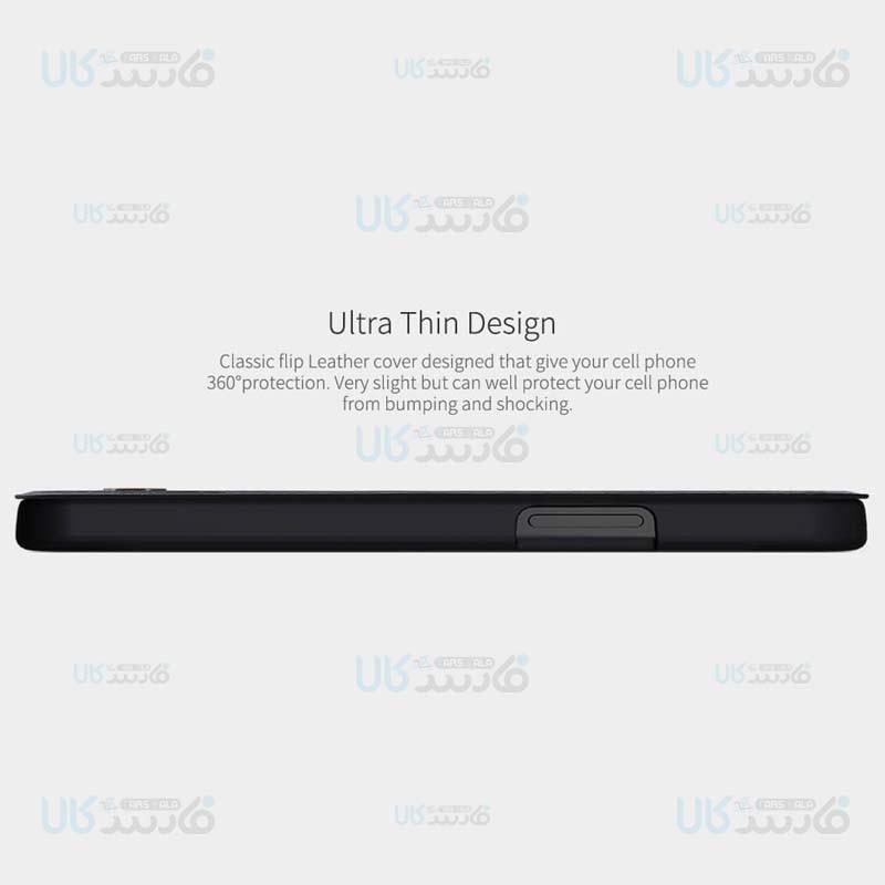 کیف محافظ چرمی نیلکین اپل Nillkin Qin Case For Apple iPhone 12 Pro Max