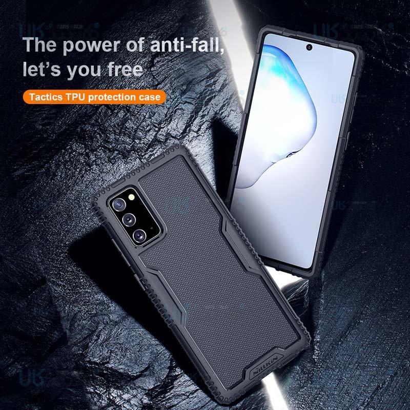 قاب محافظ نیکلین سامسونگ Nillkin Tactics TPU case for Samsung Galaxy Note 20