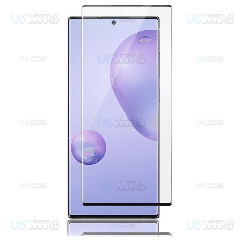 محافظ صفحه نمایش تمام چسب با پوشش کامل آر جی سامسونگ RG Full Glass Screen Protector For Samsung Galaxy Note 20 Ultra