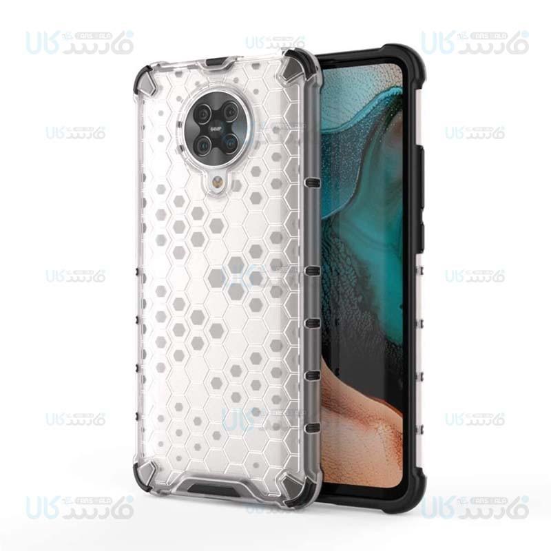 قاب محافظ لانه زنبوری شیائومی Shockproof Honeycomb Air Rubber Case For Xiaomi Redmi K30 Pro Poco F2 Pro