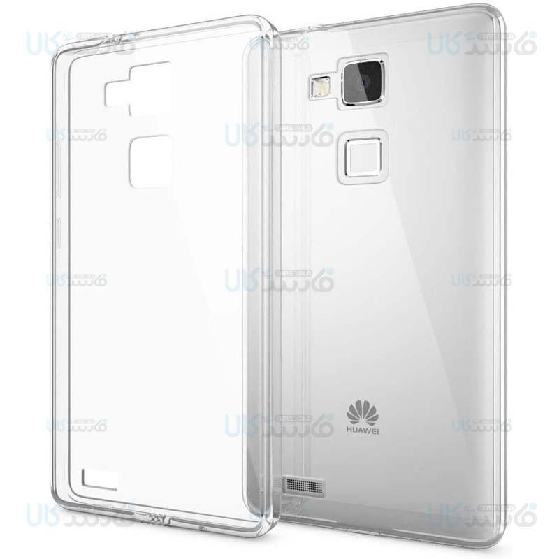 قاب محافظ شیشه ای- ژله ای هواوی Belkin Transparent Case For Huawei Ascend Mate 7