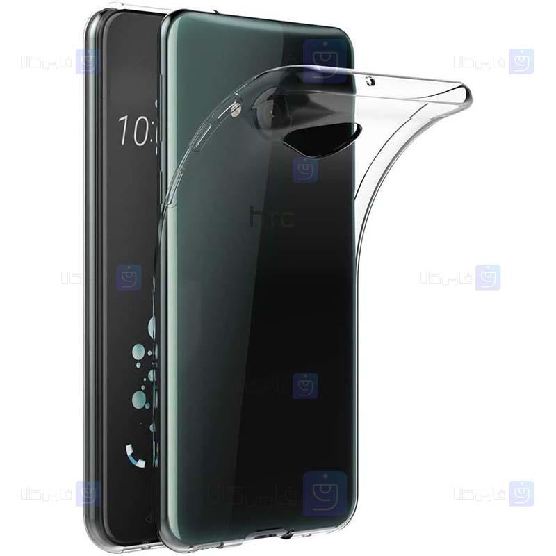 قاب محافظ ژله ای 5 گرمی اچ تی سی Clear Jelly Case For HTC U Play
