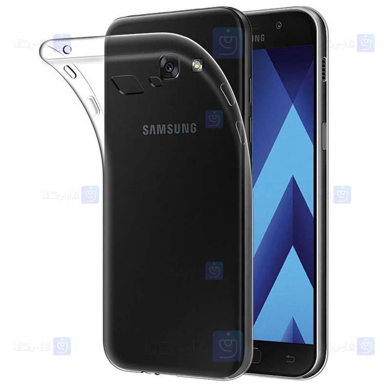 قاب محافظ ژله ای 5 گرمی سامسونگ Clear Jelly Case For Samsung Galaxy A3 2017