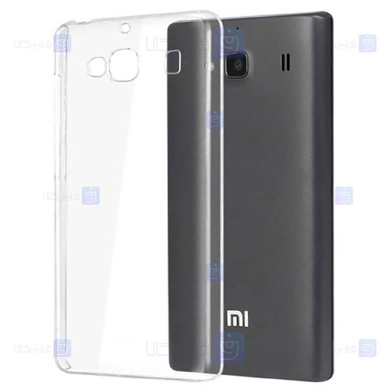 قاب محافظ ژله ای 5 گرمی شیائومی Clear Jelly Case For Xiaomi Redmi 2