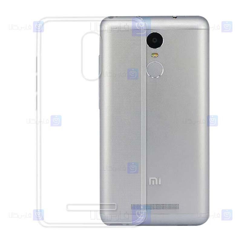 قاب محافظ ژله ای 5 گرمی شیائومی Clear Jelly Case For Xiaomi Redmi Note 3
