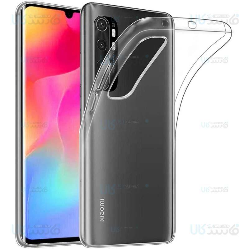 قاب محافظ ژله ای 5 گرمی کوکو شیائومی Coco Clear Jelly Case For Xiaomi Mi Note 10 Lite