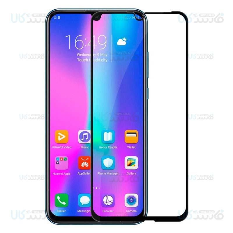 محافظ صفحه نمایش تمام چسب با پوشش کامل هواوی Full Glass Screen Protector For Huawei Honor 20 Lite