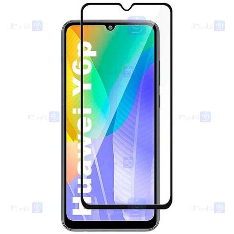 محافظ صفحه نمایش مات تمام چسب با پوشش کامل هواوی Full Matte Glass Screen Protector For Huawei Y6p 2020