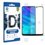 محافظ صفحه نمایش تمام چسب با پوشش کامل لیتو هواوی LITO D+ Dustproof Screen Protector For Huawei Y7 2019 Y7 Prime 2019