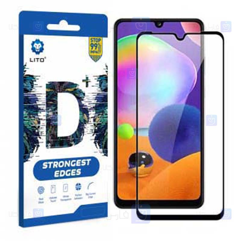 محافظ صفحه نمایش تمام چسب با پوشش کامل لیتو سامسونگ LITO D+ Dustproof Screen Protector For Samsung Galaxy A31