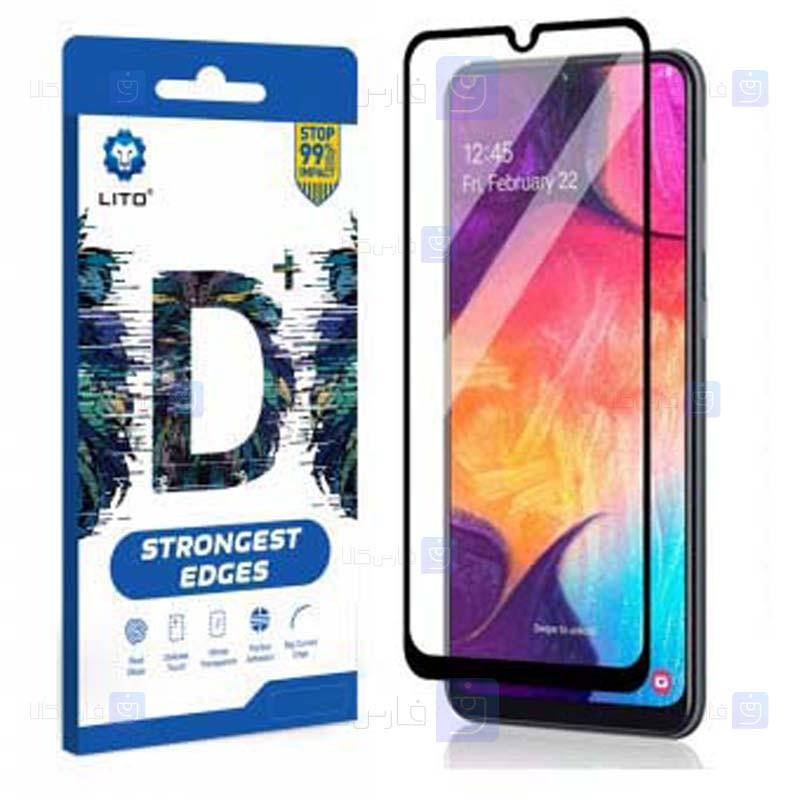 محافظ صفحه نمایش تمام چسب با پوشش کامل لیتو سامسونگ LITO D+ Dustproof Screen Protector For Samsung Galaxy A50 A30 A50s A30s
