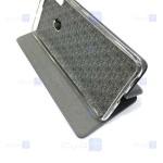 کیف محافظ چرمی هواوی Leather Standing Magnetic Cover For Huawei Y8s 2020