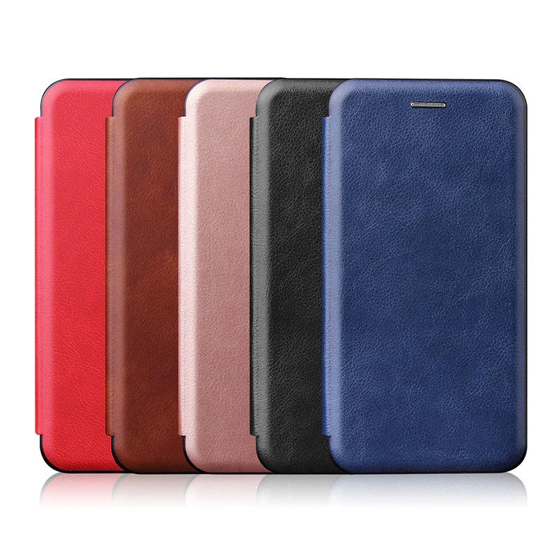 کیف محافظ چرمی سامسونگ Leather Standing Magnetic Cover For Samsung Galaxy A70s