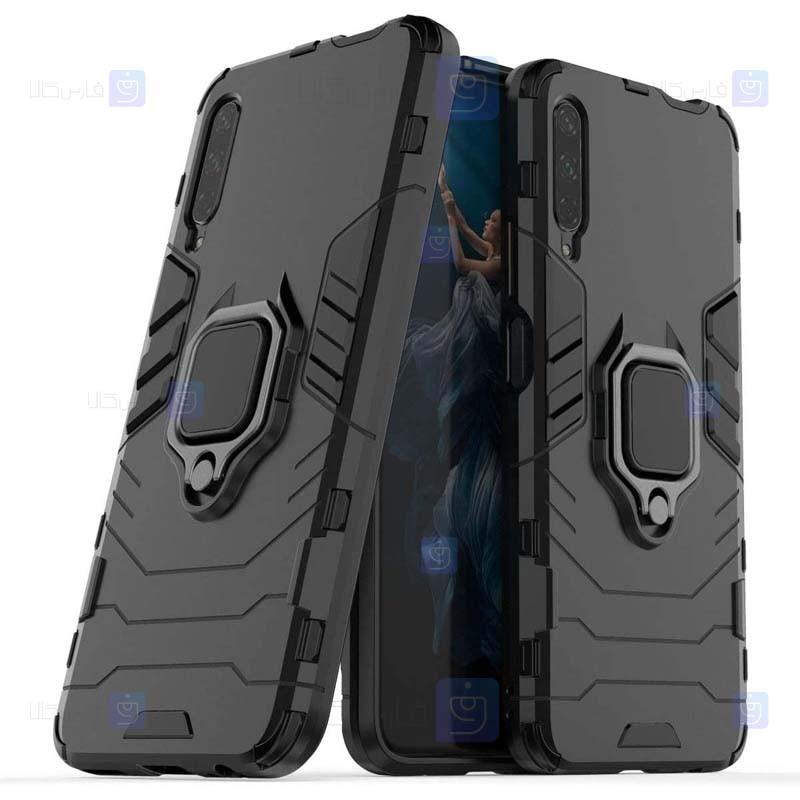 قاب محافظ ضد ضربه انگشتی هواوی Ring Holder Iron Man Armor Case Huawei Y9s Honor 9x China