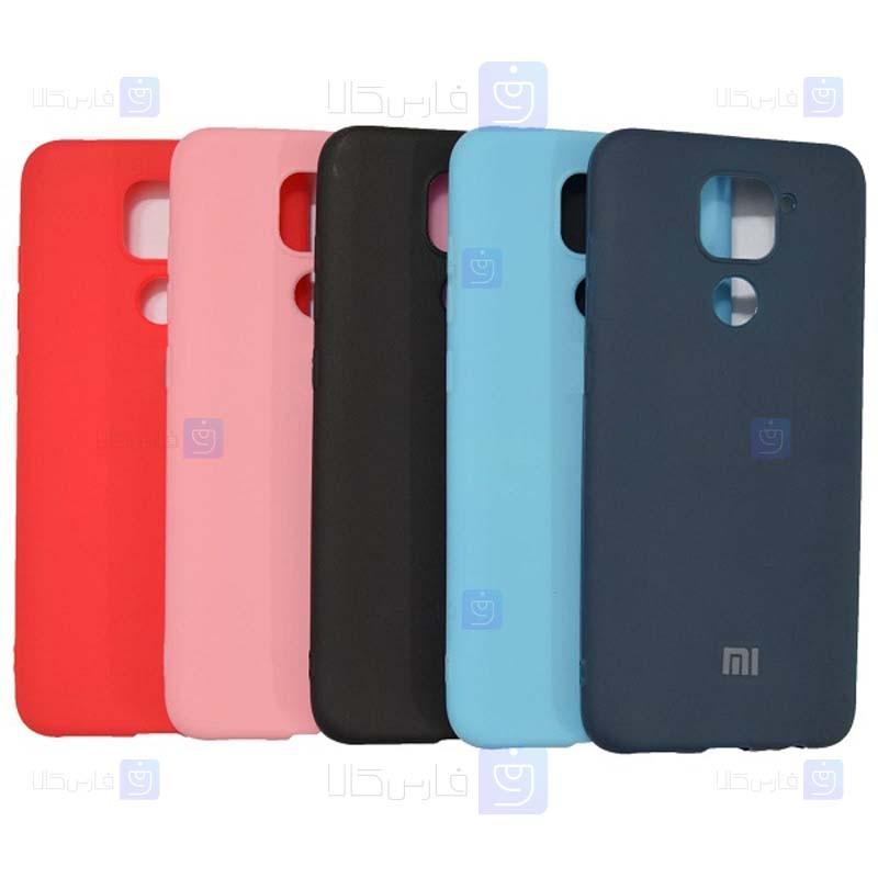 قاب محافظ سیلیکونی شیائومی Silicone Case For Xiaomi Redmi Note 9 Redmi 10X 4G