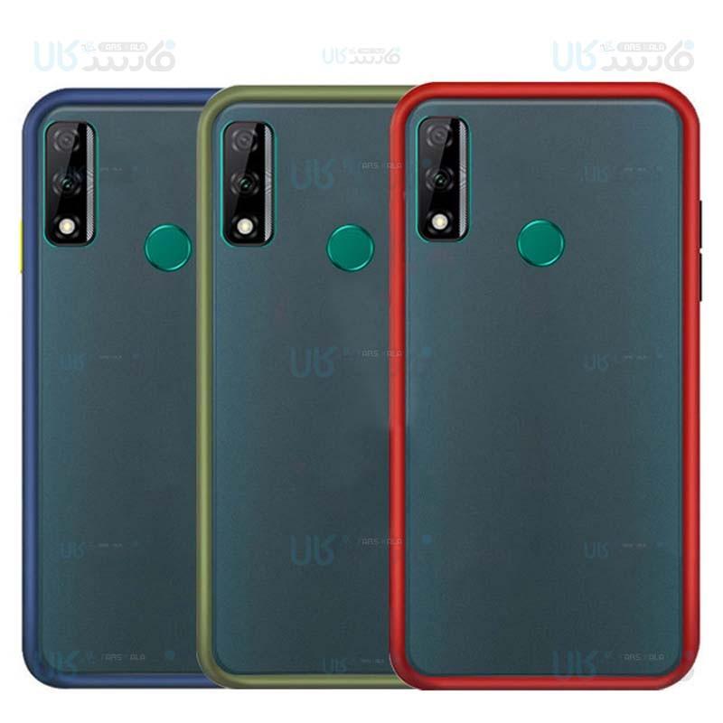 قاب محافظ مات هواوی Transparent Hybrid Case Huawei Y8s 2020