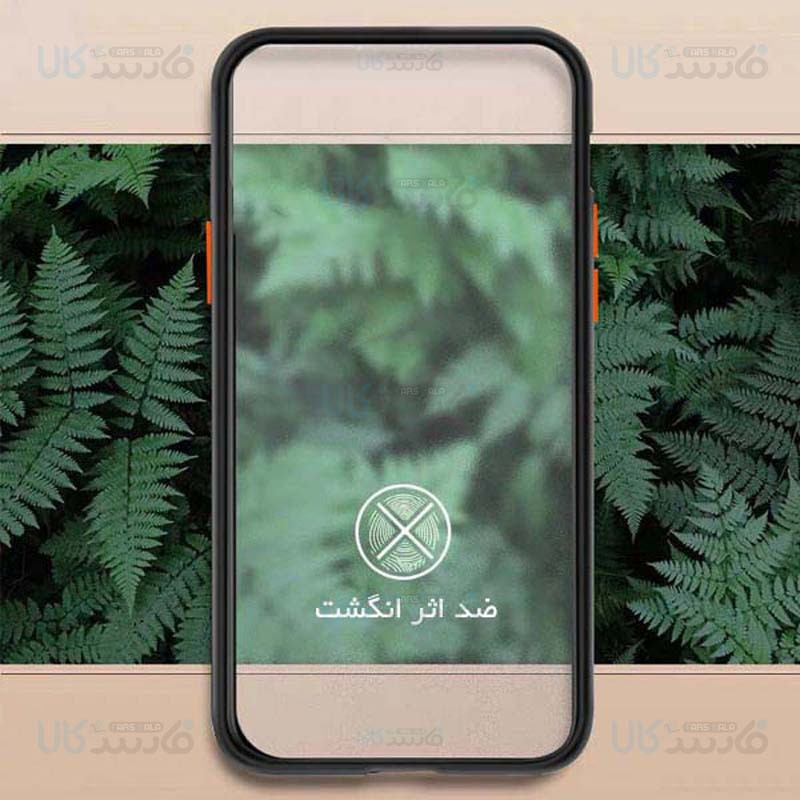 قاب محافظ مات سامسونگ Transparent Hybrid Case Samsung Galaxy A01 Core