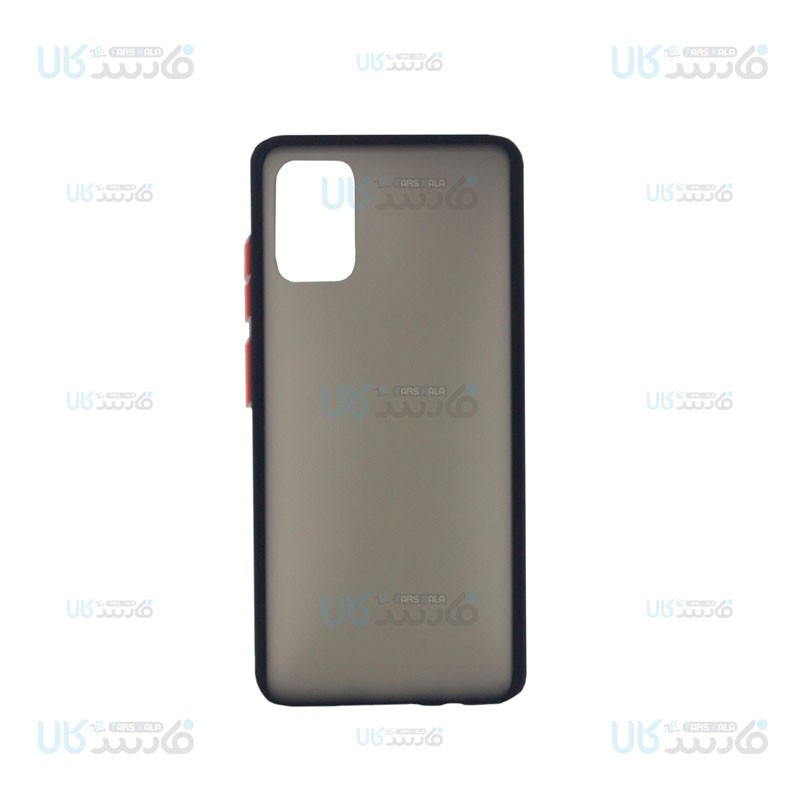 قاب محافظ مات سامسونگ Transparent Hybrid Case Samsung Galaxy A71