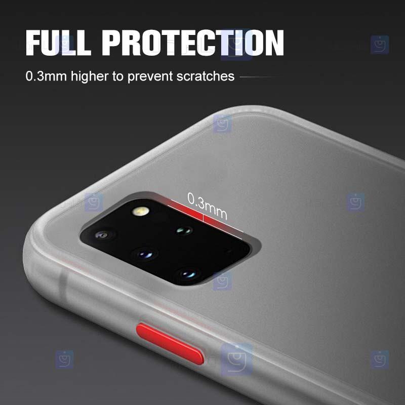 قاب محافظ مات سامسونگ Transparent Hybrid Case Samsung Galaxy Note 20 Ultra