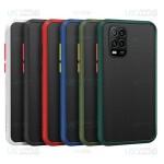قاب محافظ مات شیائومی Transparent Hybrid Case Xiaomi Mi 10 Lite 5G Mi10 Youth 5G