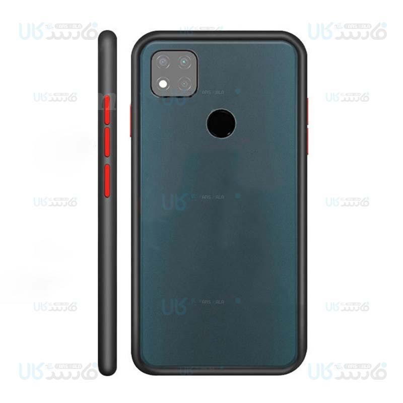 قاب محافظ مات شیائومی Transparent Hybrid Case Xiaomi Redmi 9C