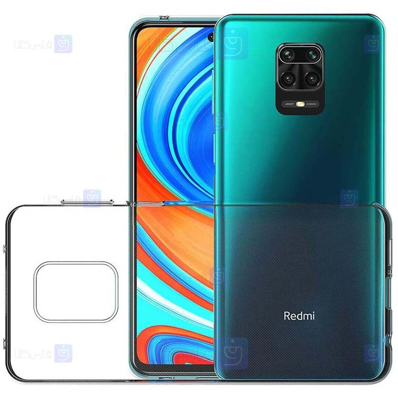 قاب محافظ شیشه ای- ژله ای شیائومی Belkin Transparent Case For Xiaomi Redmi Note 9 Pro Note 9 Pro Max Note 9S