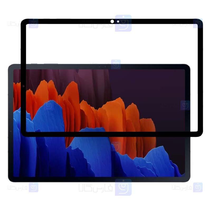 محافظ صفحه نمایش سرامیکی تمام صفحه تبلت سامسونگ Ceramics Full Screen Protector Samsung Galaxy Tab S7 Plus SM-T975 T970