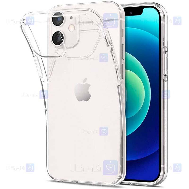 قاب محافظ ژله ای 5 گرمی اپل Clear Jelly Case For Apple iPhone 12 Mini