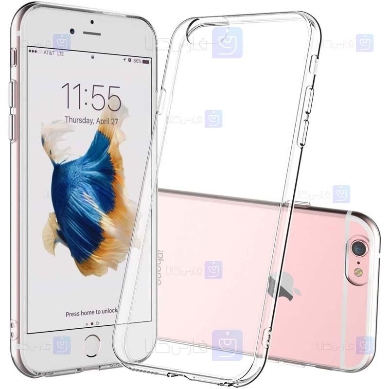 قاب محافظ ژله ای 5 گرمی اپل Clear Jelly Case For Apple iphone 6 6S