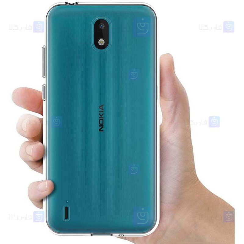 قاب محافظ ژله ای 5 گرمی نوکیا Clear Jelly Case For Nokia 1.3