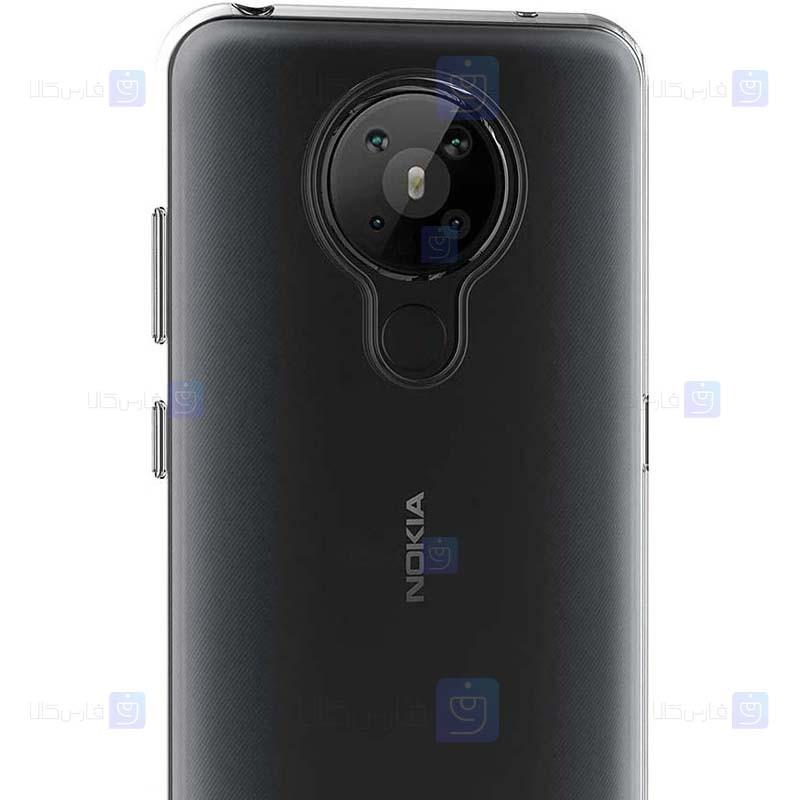 قاب محافظ ژله ای 5 گرمی نوکیا Clear Jelly Case For Nokia 5.3