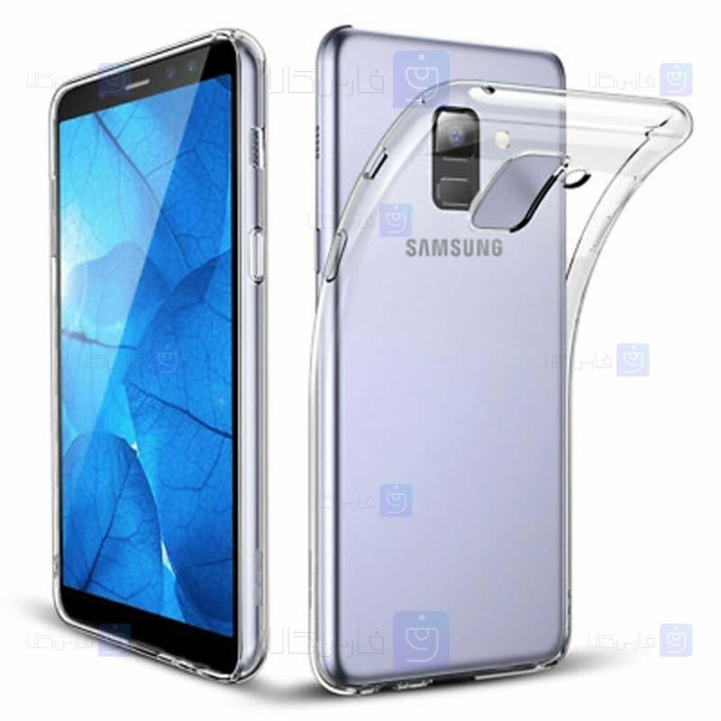 قاب محافظ ژله ای 5 گرمی سامسونگ Clear Jelly Case For Samsung Galaxy A5 2018