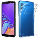 قاب محافظ ژله ای 5 گرمی سامسونگ Clear Jelly Case For Samsung Galaxy A7 2018