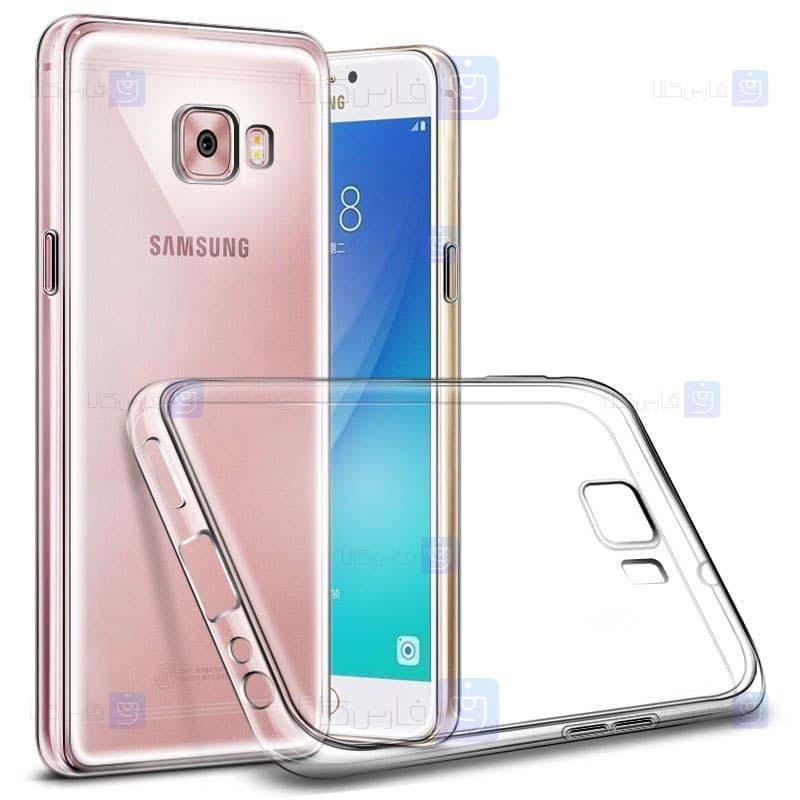 قاب محافظ ژله ای 5 گرمی سامسونگ Clear Jelly Case For Samsung Galaxy C5