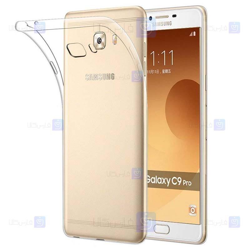 قاب محافظ ژله ای 5 گرمی سامسونگ Clear Jelly Case For Samsung Galaxy C9 Pro