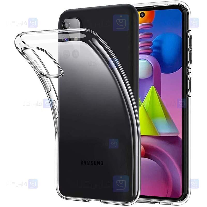 قاب محافظ ژله ای 5 گرمی سامسونگ Clear Jelly Case For Samsung Galaxy M51