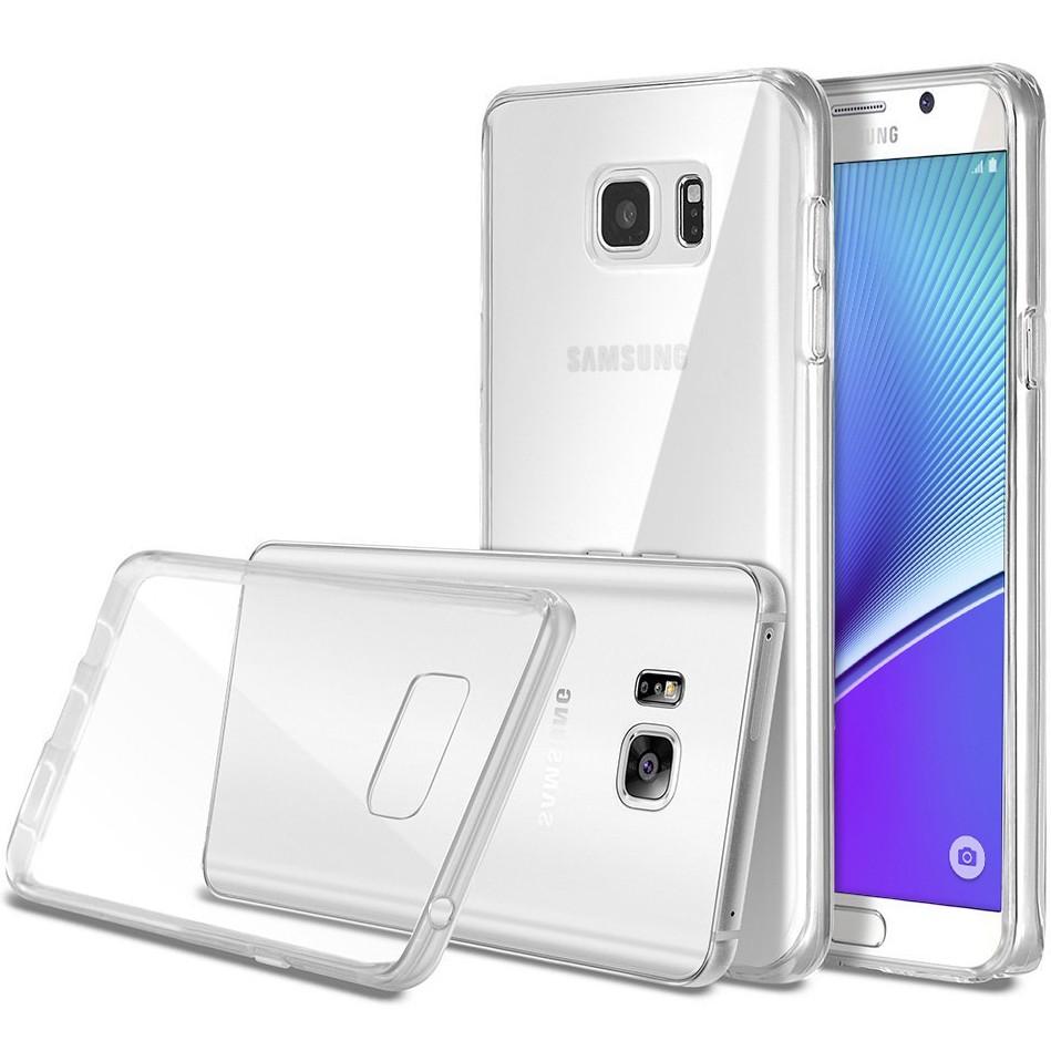قاب محافظ ژله ای 5 گرمی سامسونگ Clear Jelly Case For Samsung Galaxy Note 5
