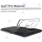 قاب محافظ ژله ای کپسول دار 5 گرمی سامسونگ Clear Tpu Air Rubber Jelly Case For Samsung Galaxy A42