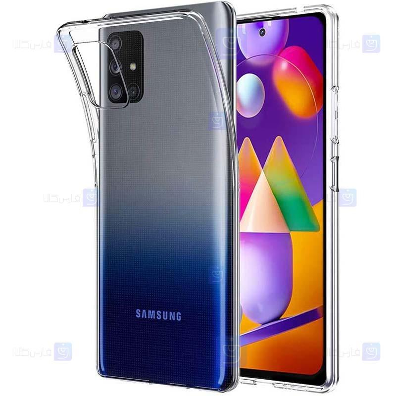 قاب محافظ ژله ای 5 گرمی کوکو سامسونگ Coco Clear Jelly Case For Samsung Galaxy M31s