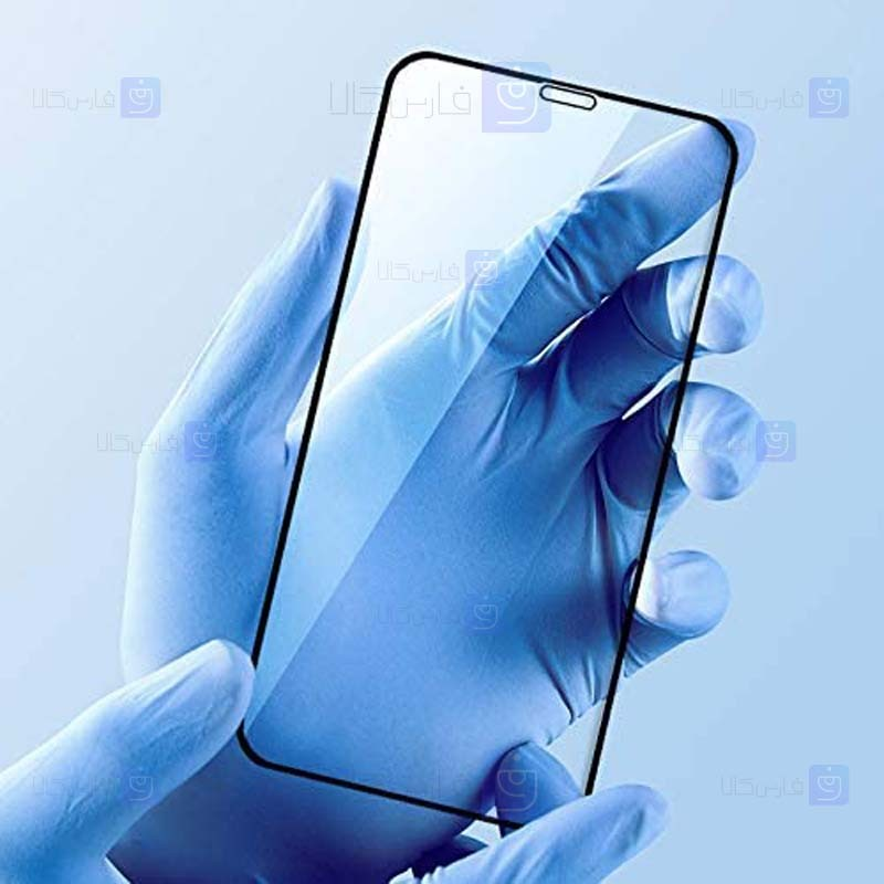 محافظ صفحه نمایش تمام چسب با پوشش کامل اپل Full Glass Screen Protector For Apple iPhone 12 Mini 5.4